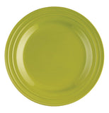 "This is an 11"" green dinner plate."