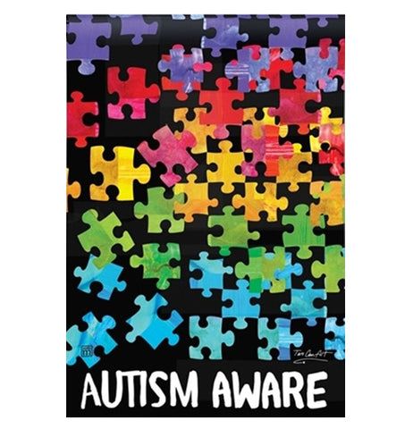 "Garden Flag ""Autism Awareness"""