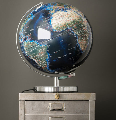 Globe Light, City Light 12""