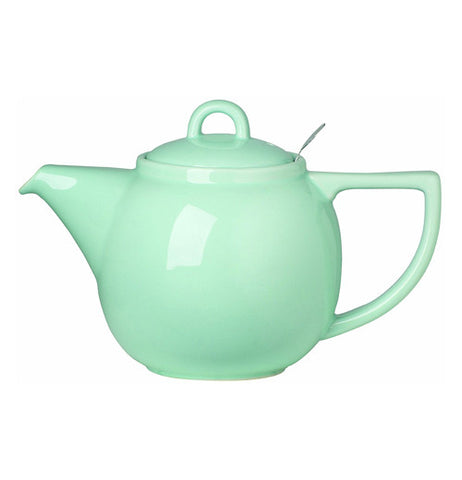 Turquoise teapot looks like fun to use.