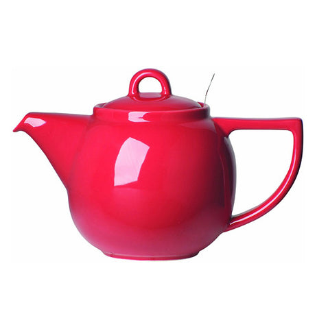 Red teapot looks awesome to use.