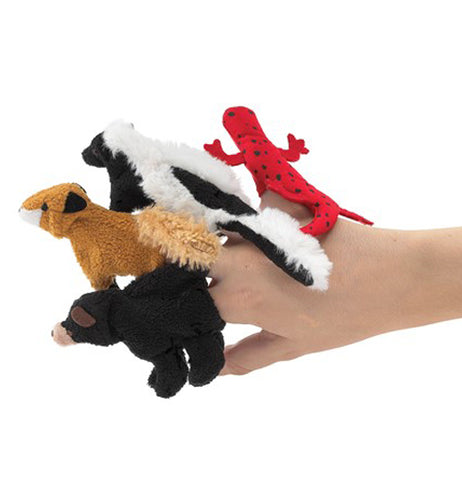 Finger Puppets, Great Smoky Mountain Animal Set