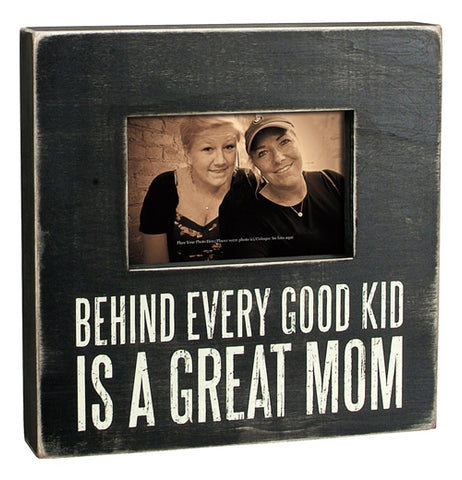 "Box Frame ""Great Mom"""