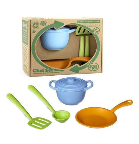 Kids Chef Set Made from Recycled Materials