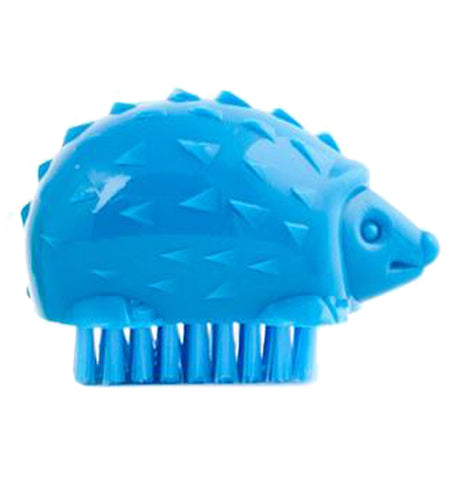 Blue hedgehog nail brush