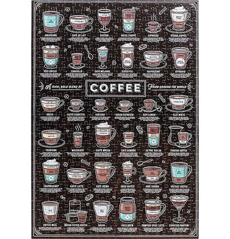 Coffee Lover's Jigsaw Puzzle 500 pcs.