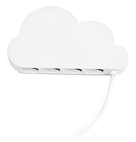 A usb modem that looks like a cloud.