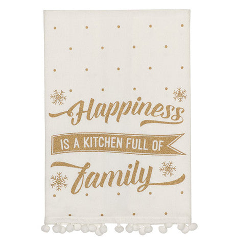 Little Red Hen-Collins-Kitchen Full Of Family Tea Towel