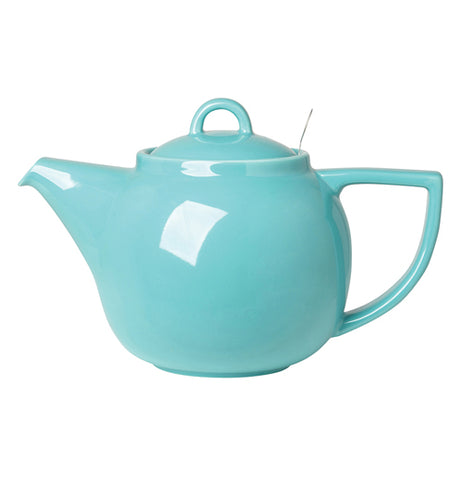 Caribbean colored tea pot.