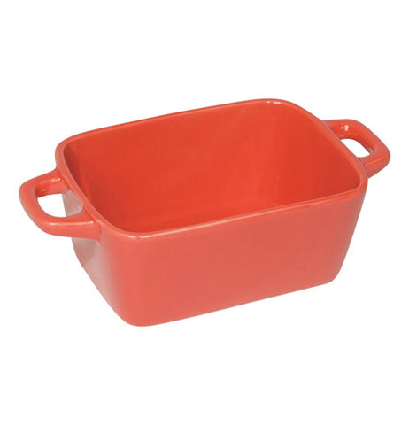 Brick red Mini Ceramic Loaf Pan