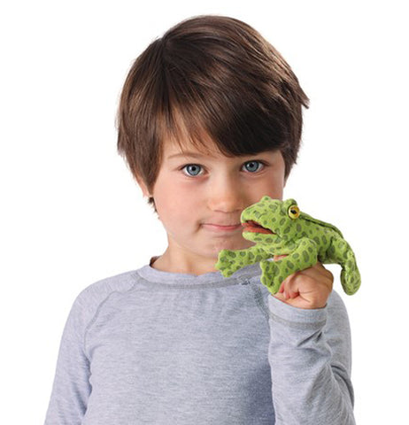 Finger Puppet, Mini Frog
