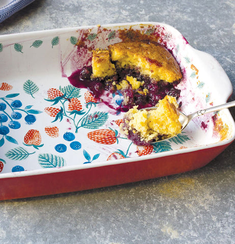 "Baking Dish ""Berry Patch"""