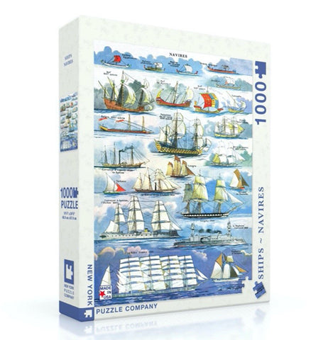 Navires - Ships Puzzle - 1000 Pieces