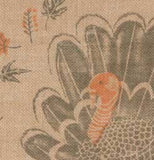 "Placemat, Burlap ""County Turkey"""