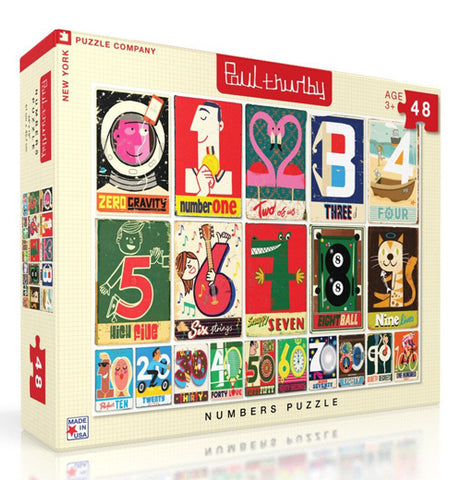 Numbers 48 Piece Puzzle