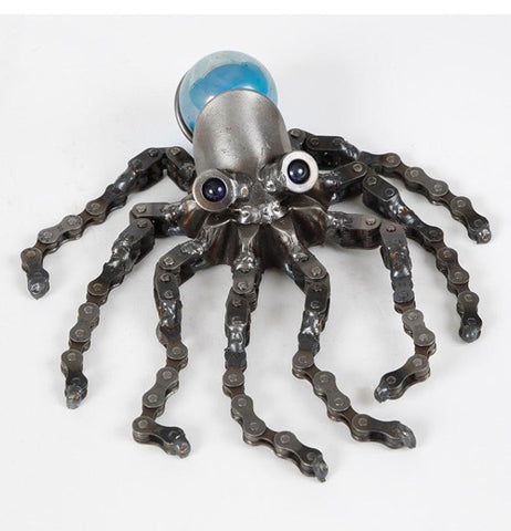 This handcrafted octopus is great for your garden.