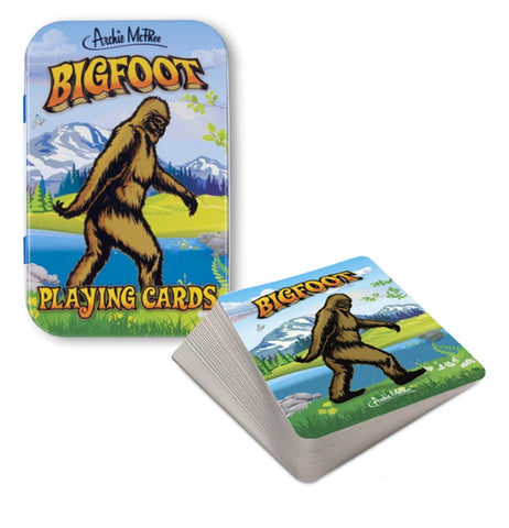 "Playing Cards ""Bigfoot"""