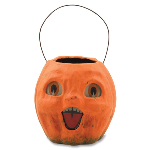 Vintage Pumpkin Bucket Small