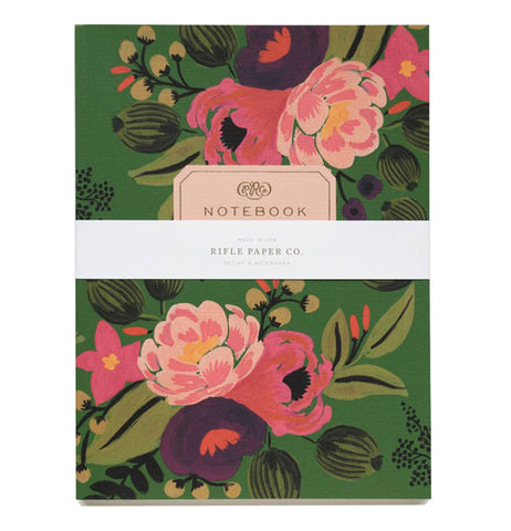 "Notebooks (Set of 2) ""Vintage Blossoms"""