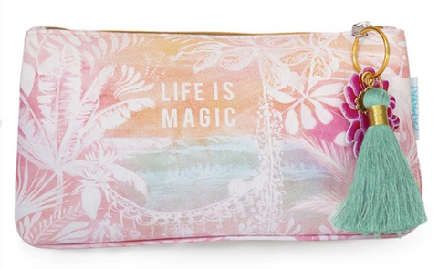 "Pouch, Tassel, Small ""Jungle Magic"""