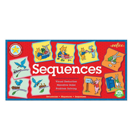 "The ""Sequences"" Educational Game set is wonderful tool and an entertaining and beautifully designed game."