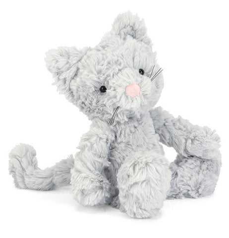 JellyCat-Plush Toys-Squiggle Kitty Small