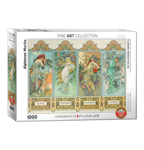 The Four Seasons 1000-Piece Puzzle