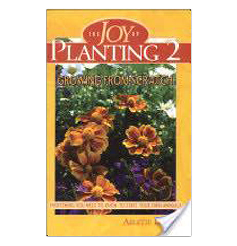 The orange book of the Joy of Planting 2: Growing from Scratch showed orange and purple flowers bloomed.