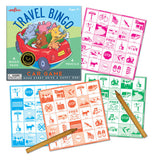 its a bingo car game.The Bingo cards are squares of pictures rather then numbers. each card is a different color
