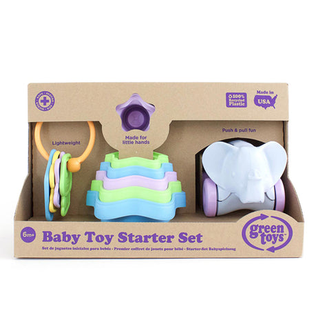 The Baby Toy Stater Set in it's package.