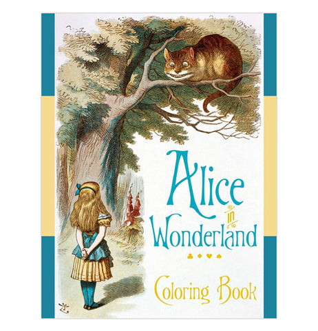 "Coloring Book ""Alice in Wonderland"""