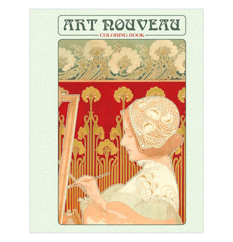 "Coloring Book ""Art Nouveau"""