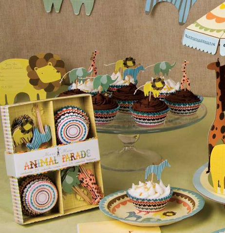 "Cupcake Kit ""Animal Parade"""