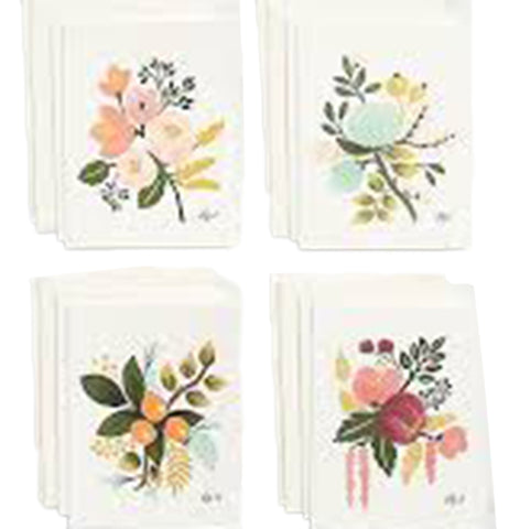 Notecard Set, Assorted Botanical
