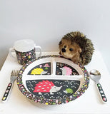 "Silverware Set ""Hedgehog"""