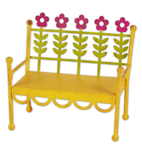 Yellow Flower Bench (Mini)