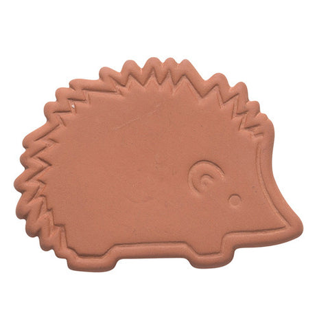 The brown sugar saver is shaped as a hedgehog.