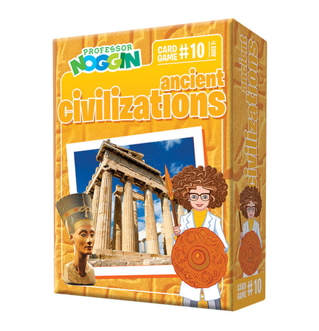 "Card Game, ""Prof. Noggin: Ancient Civilations"""