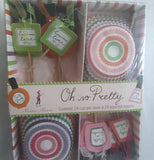 "The close-up of the ""Oh, So Pretty"" Cupcake Kit."