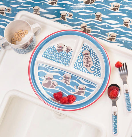"Baby Plate, Suction ""Baby Otter"""
