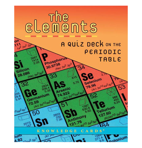 The Elements: Quiz Deck on Periodic Table