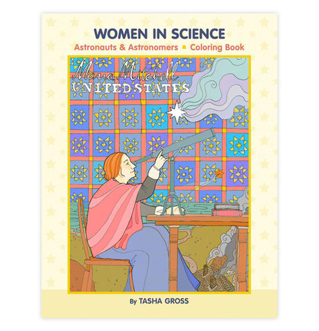 "Coloring Book ""Women in Science"""