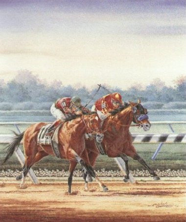 Victory Gallop & Real Quiet ~ The 1998 Belmont Stakes