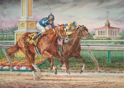 Curlin ~ The 2007 Preakness