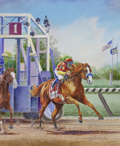 JUSTIFY - UnFramed - Signed by Mike Smith