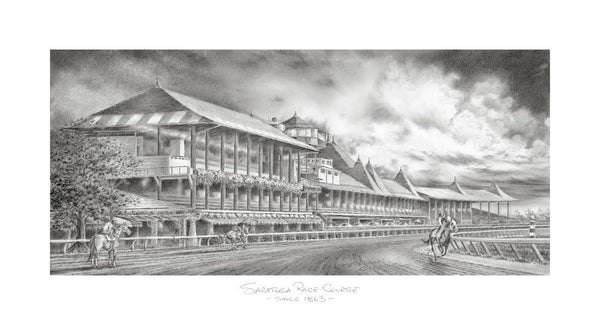 Saratoga in Dramatic Pencil