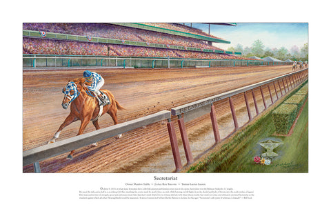 "Secretariat ~     ""The Greatest Race of All Time"""