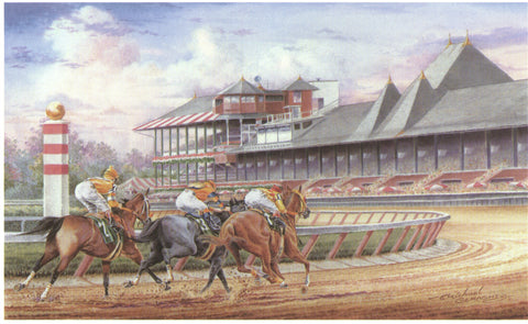 """Racing at Historic Saratoga"""