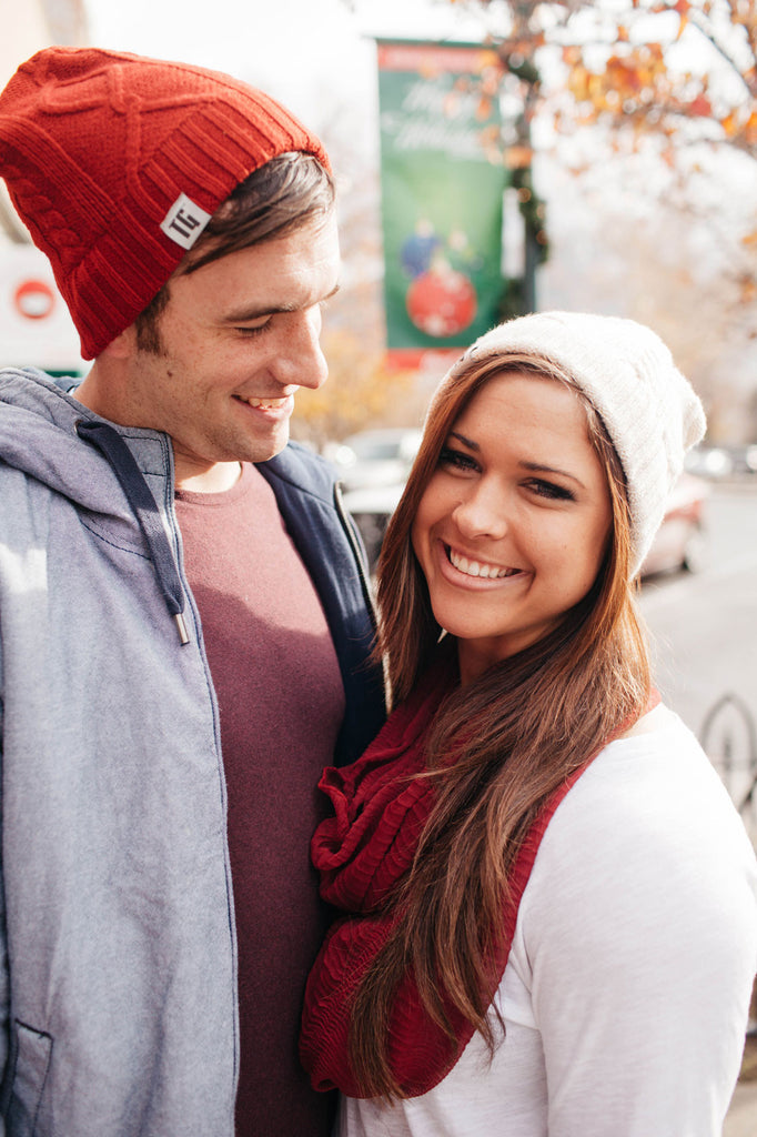 Fire Storm Red Bluetooth Beanie - Bluetooth Headphones - Bluetooth Hats