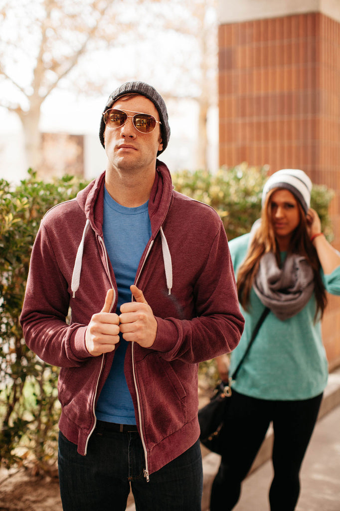 Steel Gray Bluetooth Beanie - Bluetooth Headphones - Bluetooth Hats